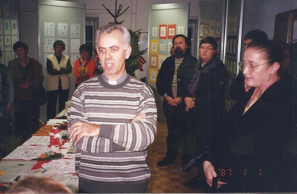 G Miro odpira razstavo Krščanskega bratstva invalidov (KBBI).