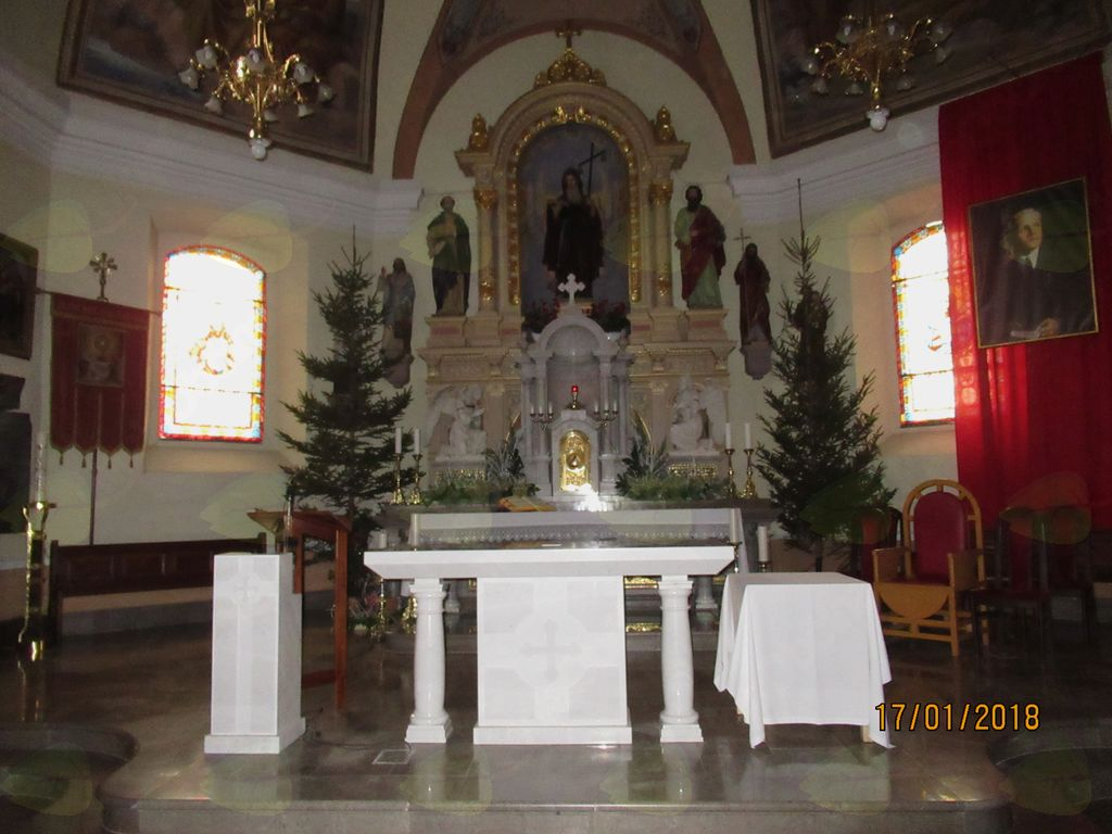 Devet dnevne priprave na sprejem relikvij blaženega Alojzija Grozdeta
