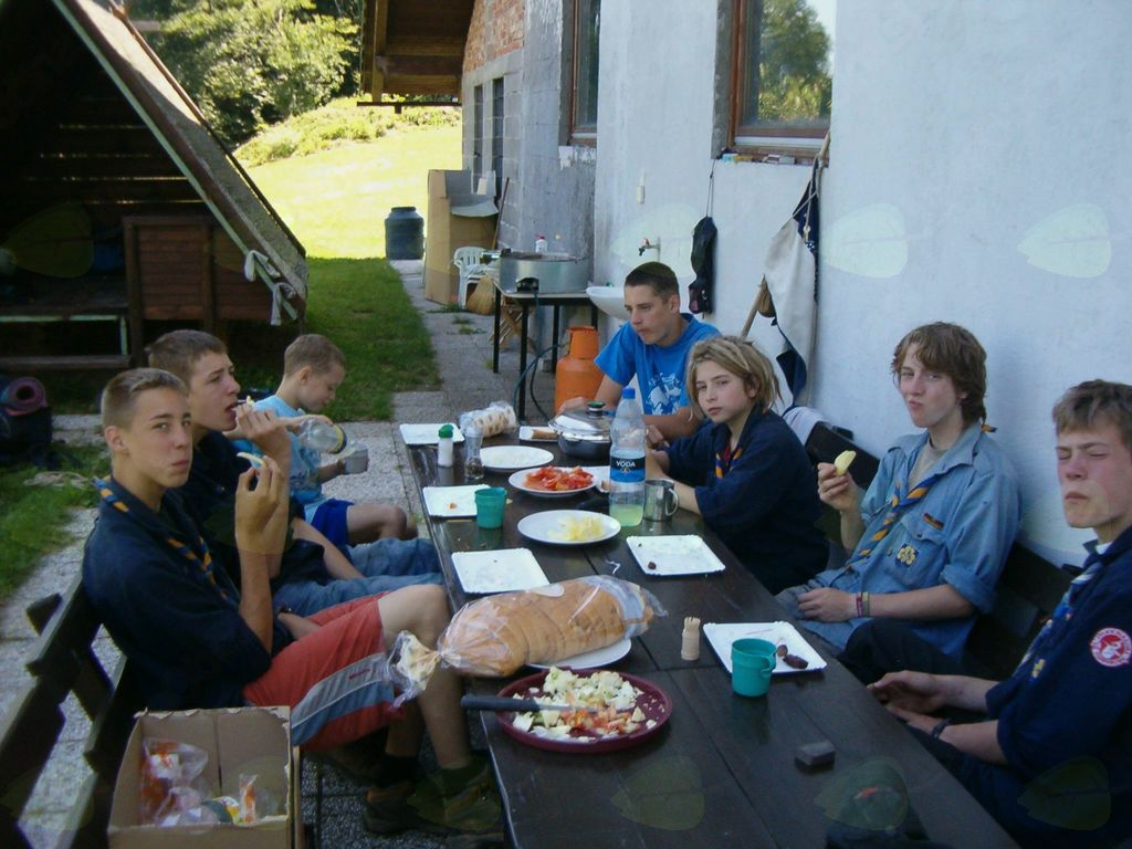 Obisk mladih iz Nemčije.