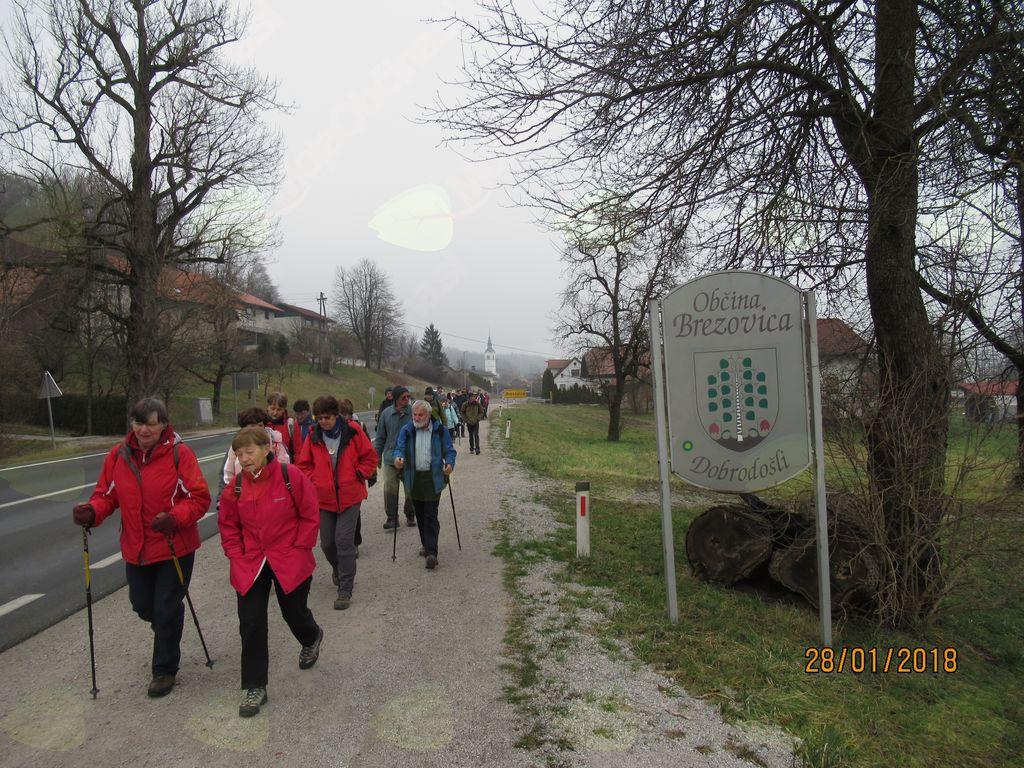 Tradicionalno 11. peš romanje k Pavlu na Vrhniko