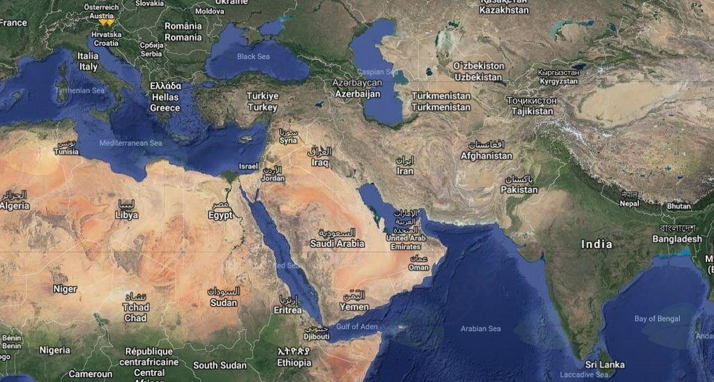 Pozdrav iz Omana.