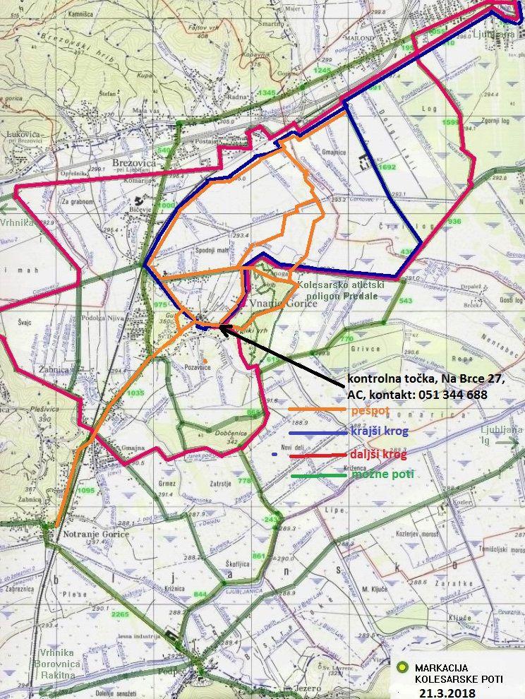 SLO kolesari po Ašičevih poteh Ljubljanskega barja 2018, na 57. Sosedov dan