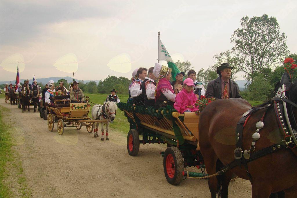 Tradicionalni blagoslov motoristk in motoristov ter motorjev in drugih vozil na Brezovici