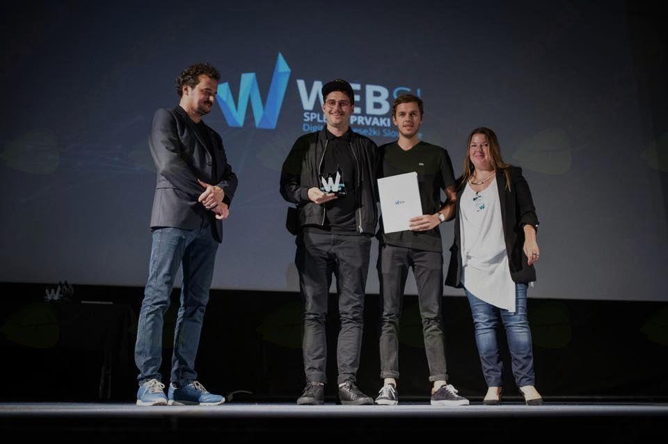 Čestitka Websi Spletnim prvakom