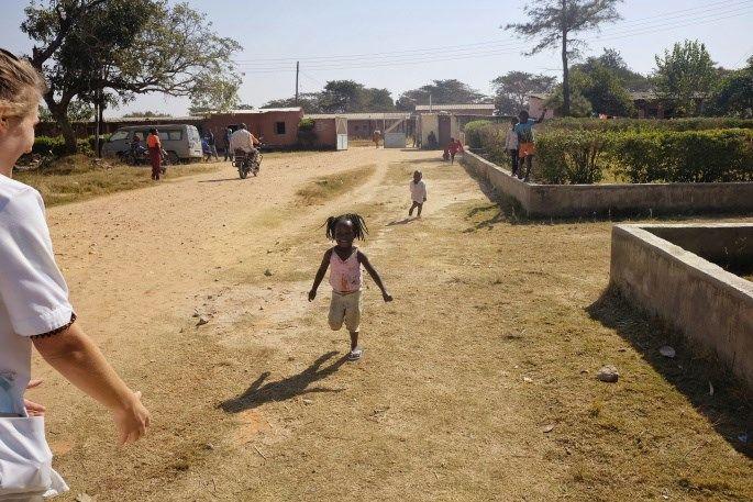 Naselje vAfriki.