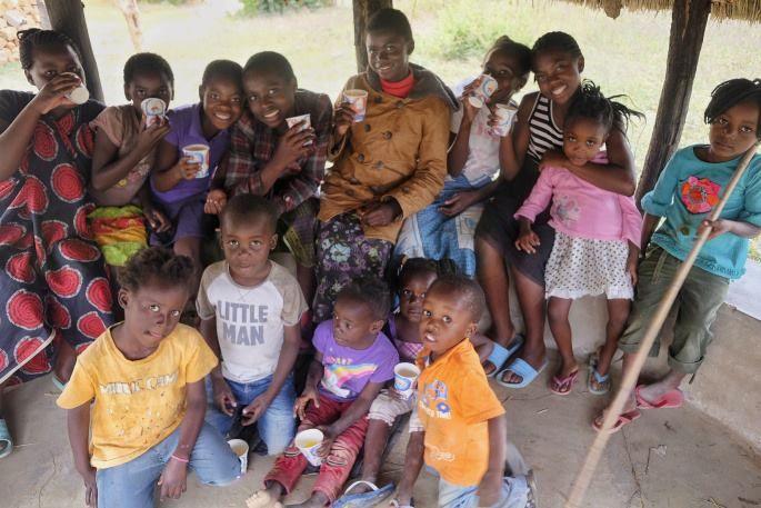 Otroci iz Afrike.
