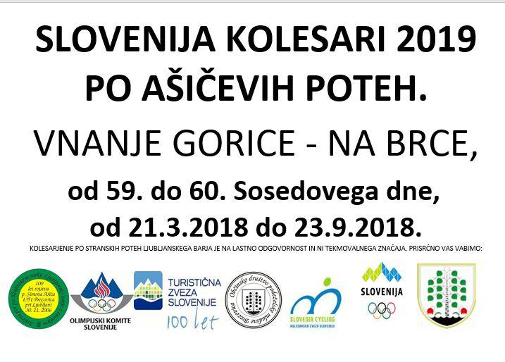 Slovenija kolesari 2019: Po Ašičevih poteh Ljubljanskega barja