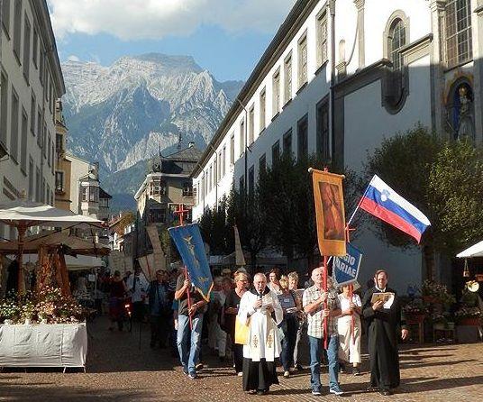 Povabilo na 19. romanje v Hall na Tirolskem (Avstrija) 23.–25. avgusta