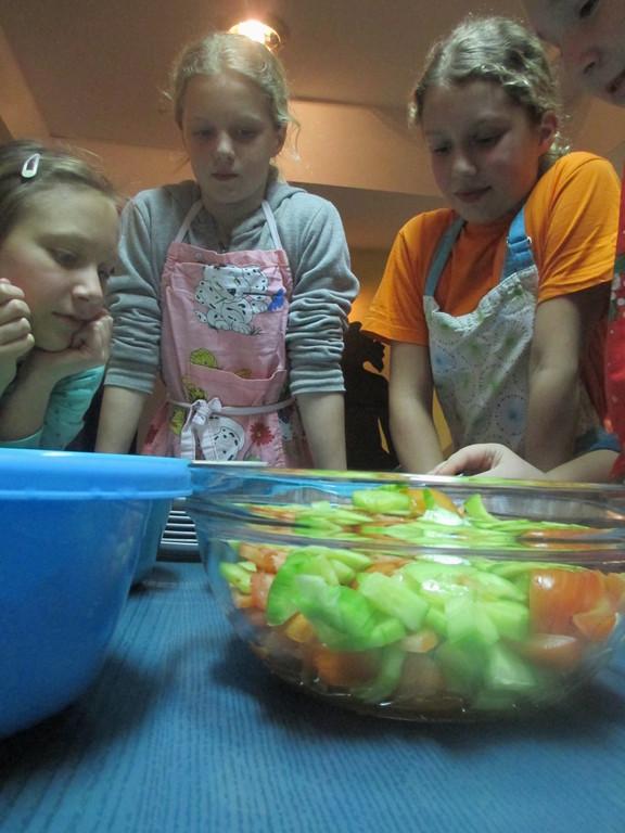 Petkove kuharije v Mravljišču Špageti bolognez
