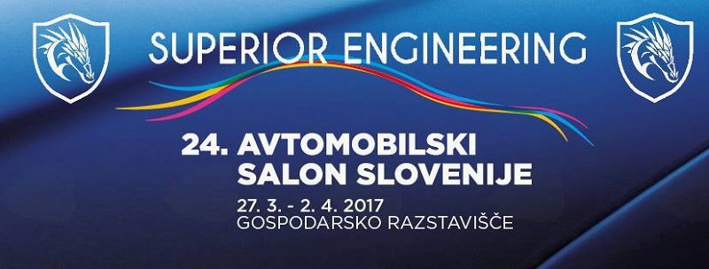 SUPERIOR ENGINEERING NA 24. AVTOMOBILSKEM SALONU SLOVENIJE