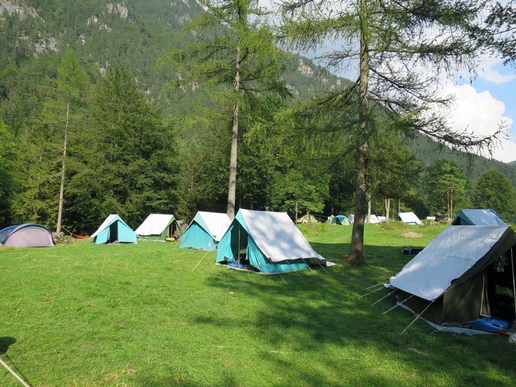 Pogled na del tabora