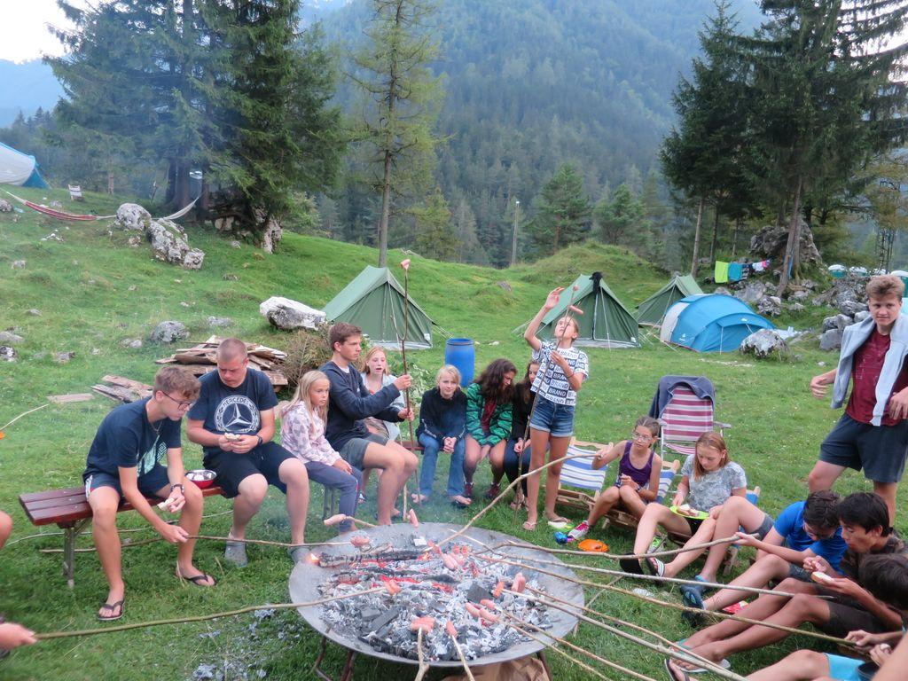 56. planinski tabor v Robanovem kotu