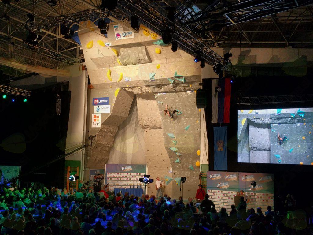 Zaključna tekma svetovnega pokala v težavnostnem plezanju, Kranj 2017