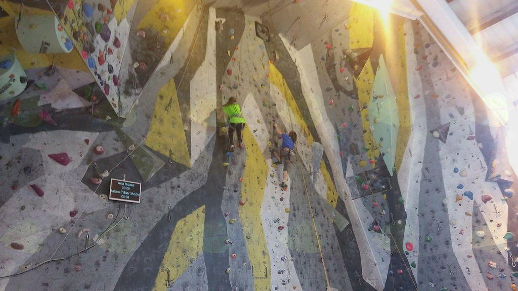 2. tekma v športnem plezanju Zahodne lige 2017/18, Jesenice
