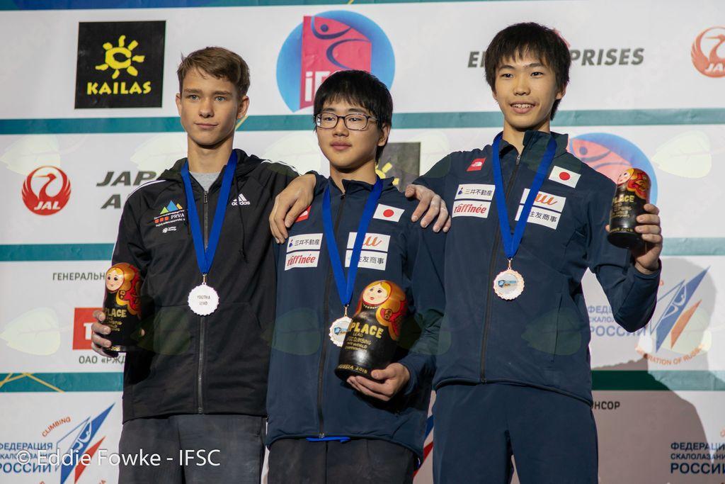 Vita svetovna mladinska prvakinja, Luka podprvak!