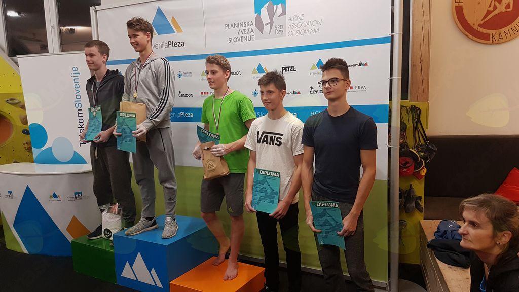 Državno prvenstvo v športnem plezanju 2018, Kamnik