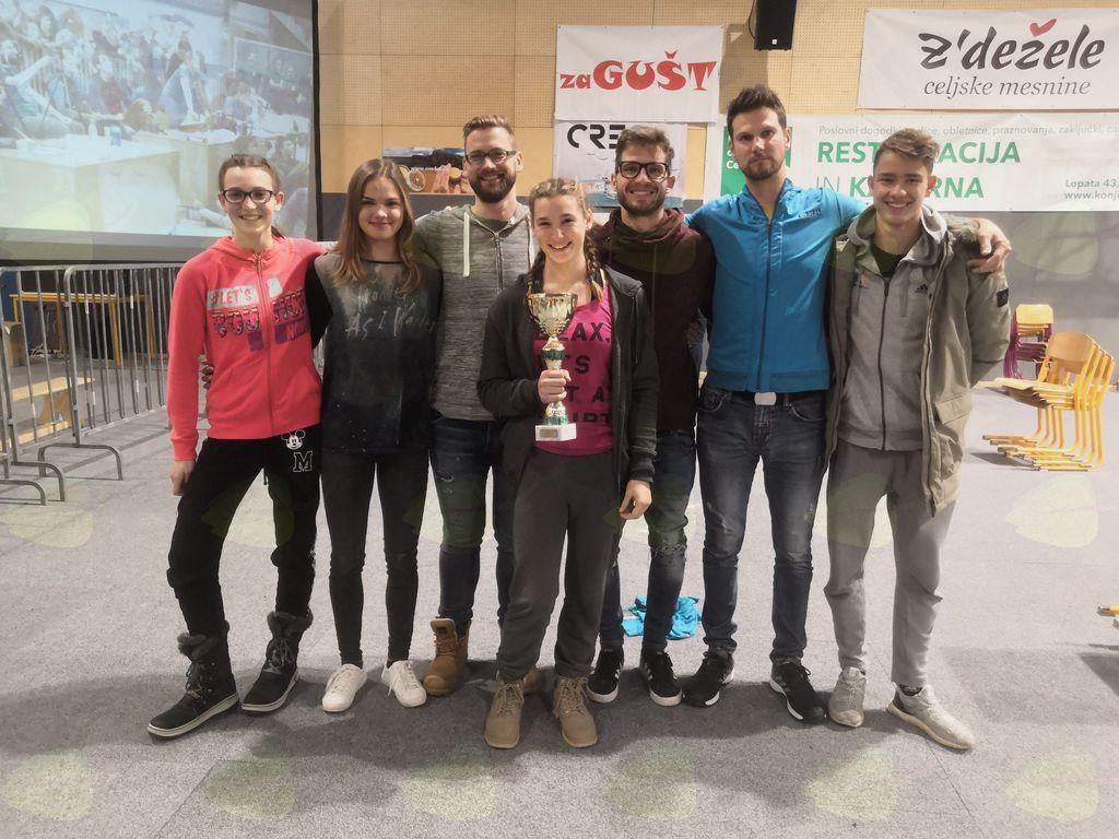 Plezalci odlični na zadnji tekmi državnega prvenstva v Celju