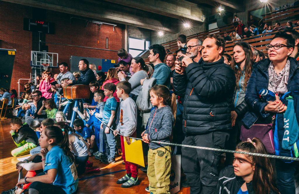 Mednarodna tekma iRCC v športnem plezanju v Radovljici