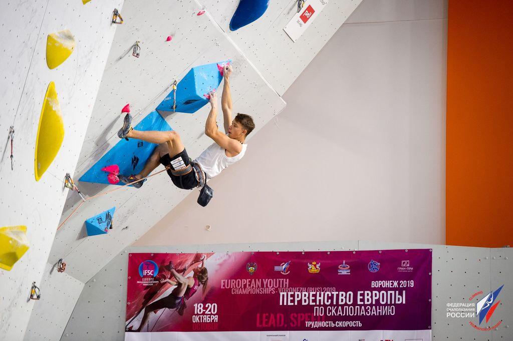 Luka Potočar evropski mladinski prvak v težavnosti!
