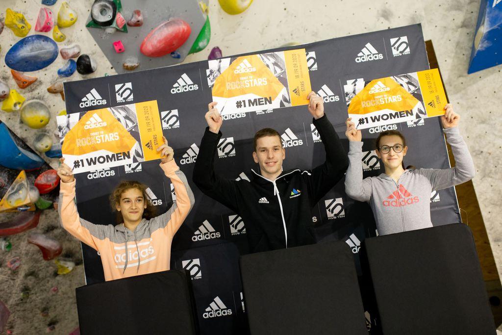 Eva Puhar si je priplezala vstopnico za finale na AdidasRockstarts