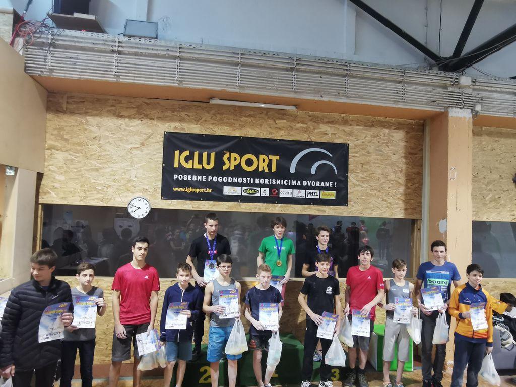 Prva tekma v športnem plezanju iRCC Zagreb