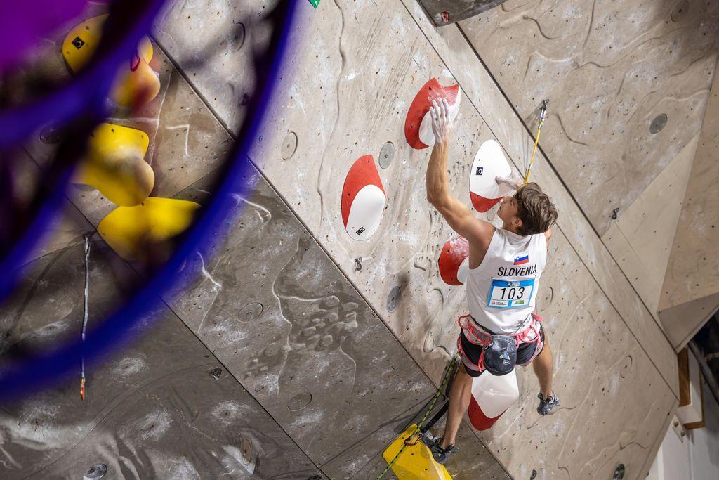 Luka Potočar si je v Kranju priplezal srebrno medaljo
