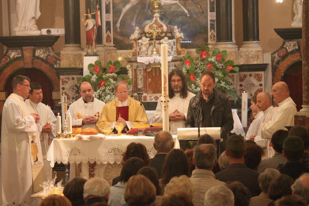 Zlata maša v župnijski cerkvi sv. Jurija v Šturjah