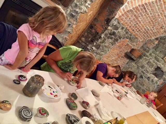Delavnica slikanja na kamne