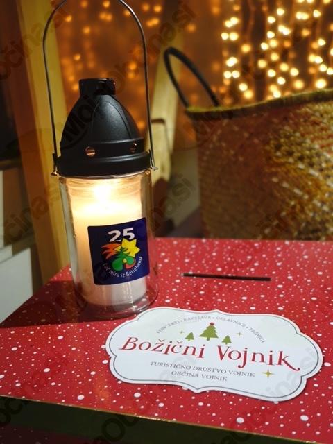 Betlehemska luč je svetila tudi na Božičnem Vojniku.