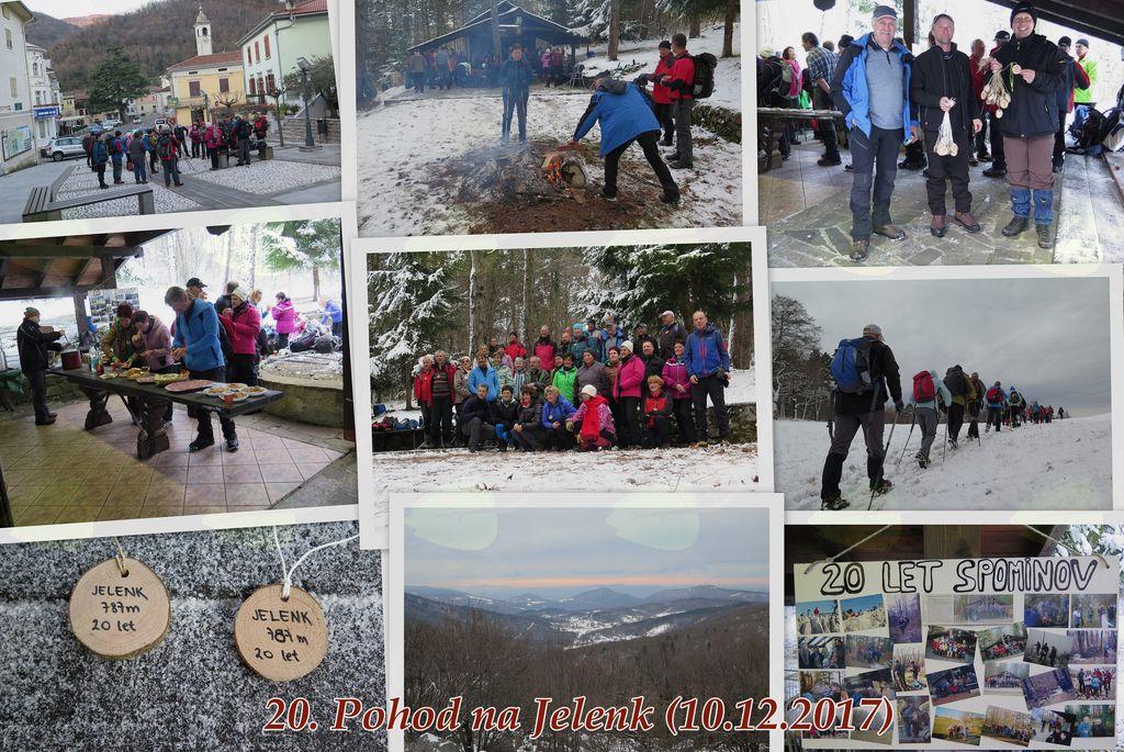 20. tradicionalni Pohod na Jelenk
