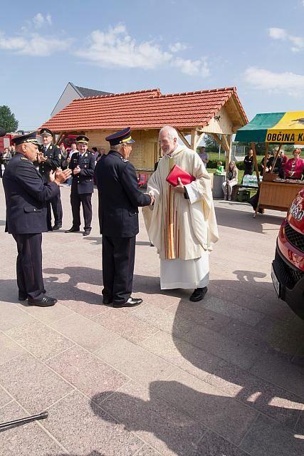Gasilci GZ Križevci počastili svojega zavetnika