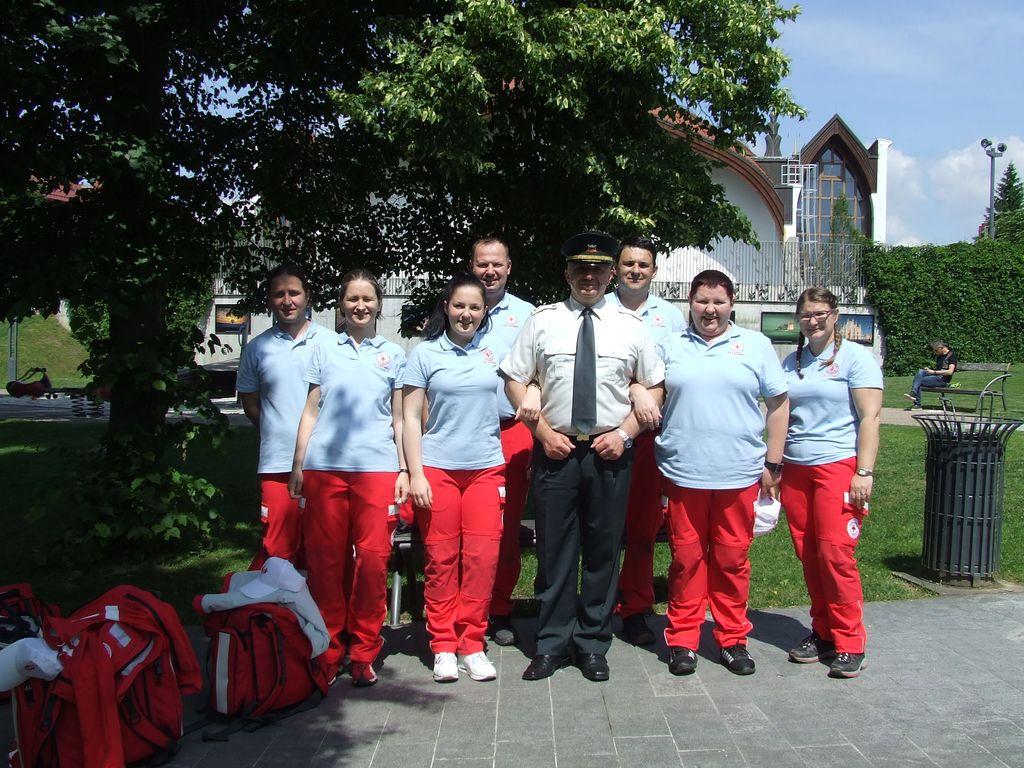Bolničarji 2. na regijskem preverjanju