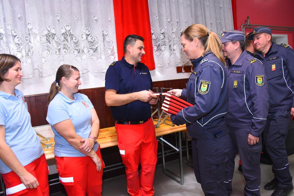 Komisija za članice GZ Križevci organizirala vajo