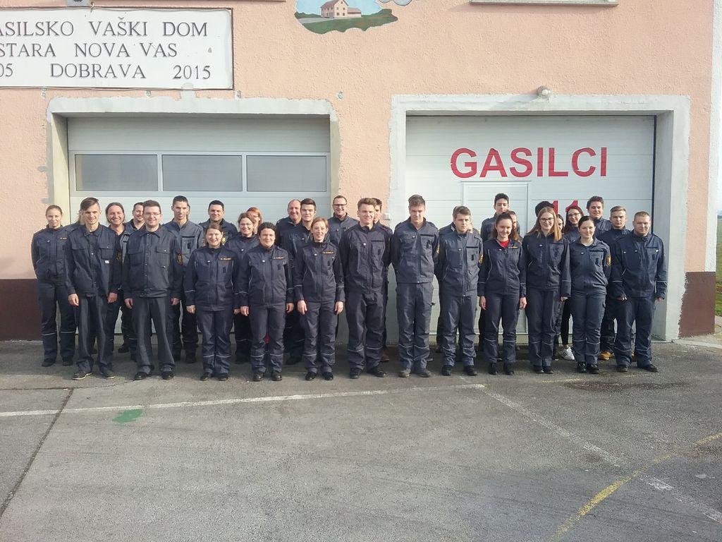 Gasilski pripravniki GZ Križevci