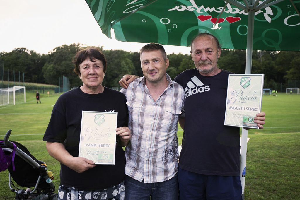 Ivanka in Avgust Serec postala častna člana NK Radenske Slatine
