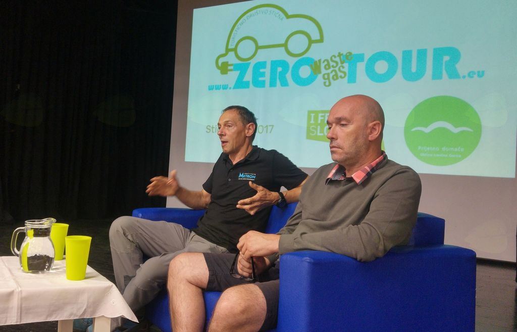 Zero tour 2017 - okrogla miza o razvoji trajnostne mobilnosti v SLoveniji.