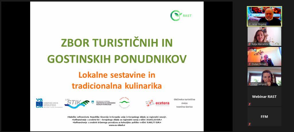Spletni zbor turističnih in gostinskih ponudnikov s prof. dr. Janezom Bogatajem