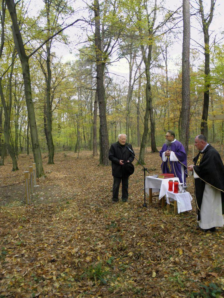 G. Topolovec je prav tako govoril o dogajanju v taborišču Šterntal.