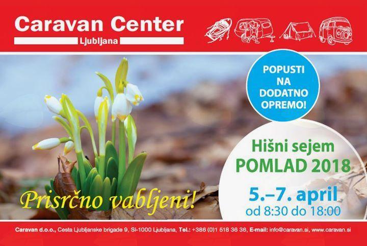 Caravanov hišni sejem pomlad 2018