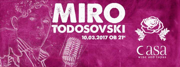 Miro Todosovski | Koncert za dan žena @Casa