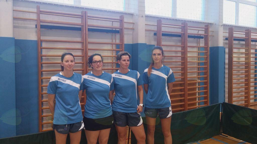 Ženska ekipa NTK Preserje je spodbudno pričela z nastopi v prvi namiznoteniški ligi