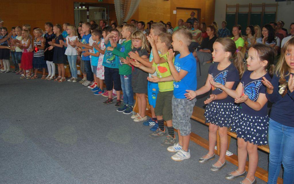 Sprejem prvošolcev na Osnovni šoli Vransko