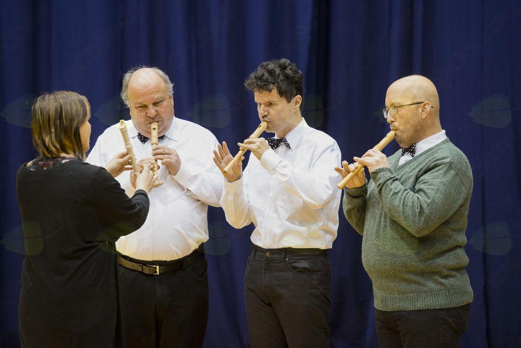 Trio kljunastih flavt Varstveno delovnega centra Nova Gorica