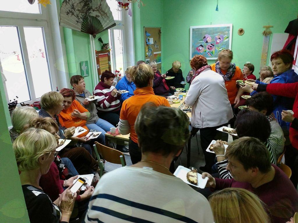 Tradicionalni sloveski zajtrk v Medgeneracijskem centru in praznovanje ob zaključku leta 2017