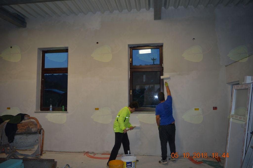 pleskanje garaže