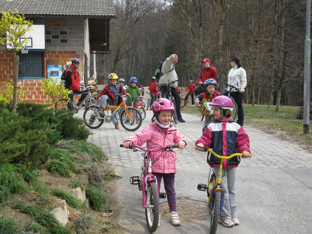 Slovenija kolesari v letu 2017