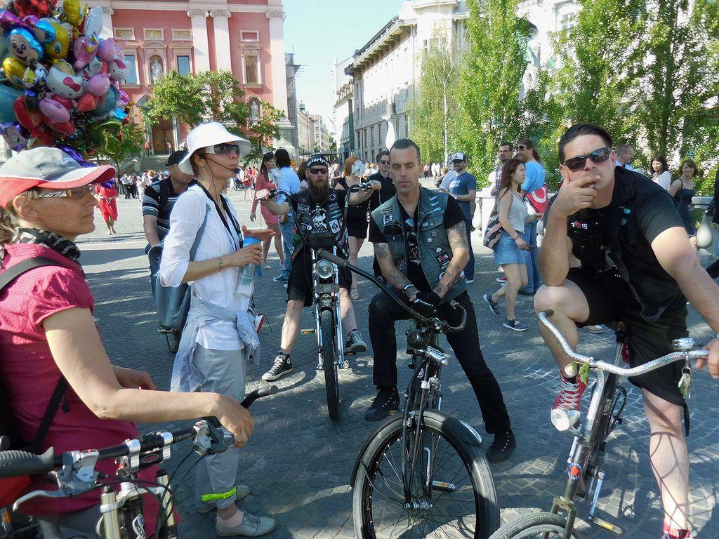 Kolesarjenje po Plečnikovi Ljubljani  (možnost izposoje koles)