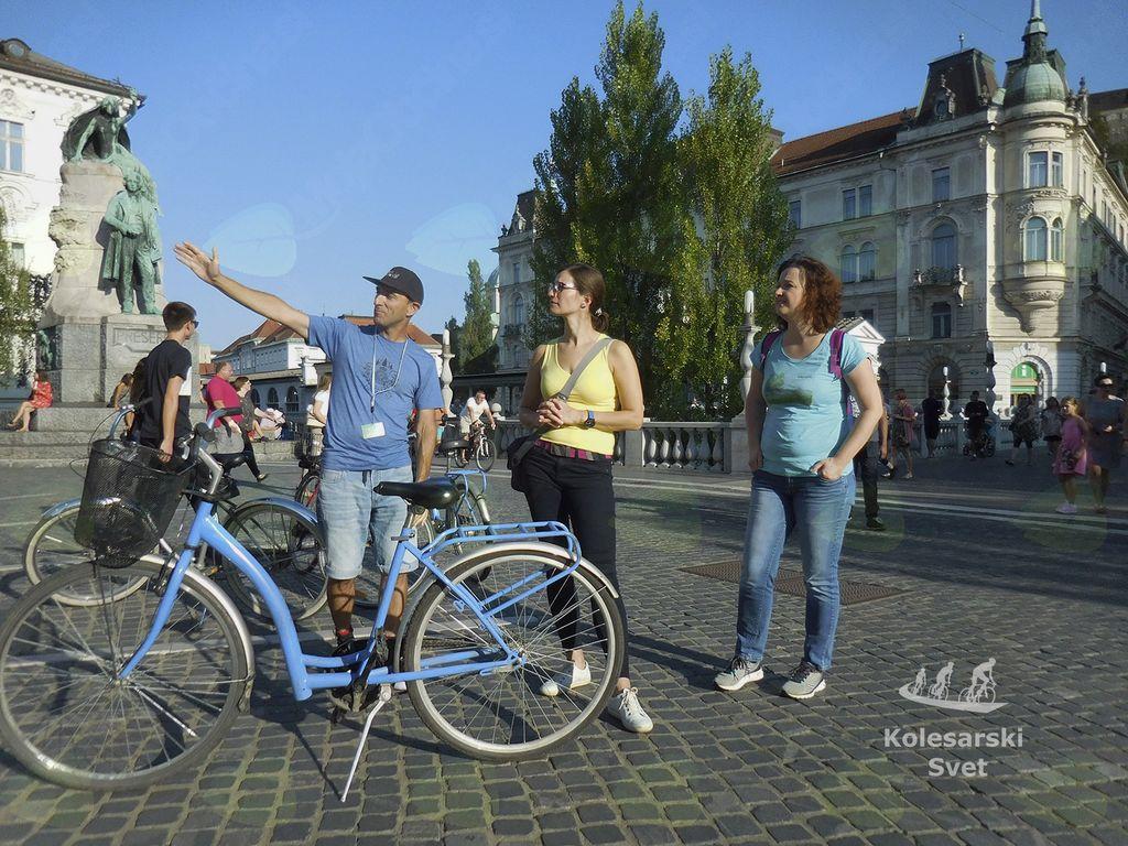 """Kolesarski izlet po """"Best of Ljubljana"""""""