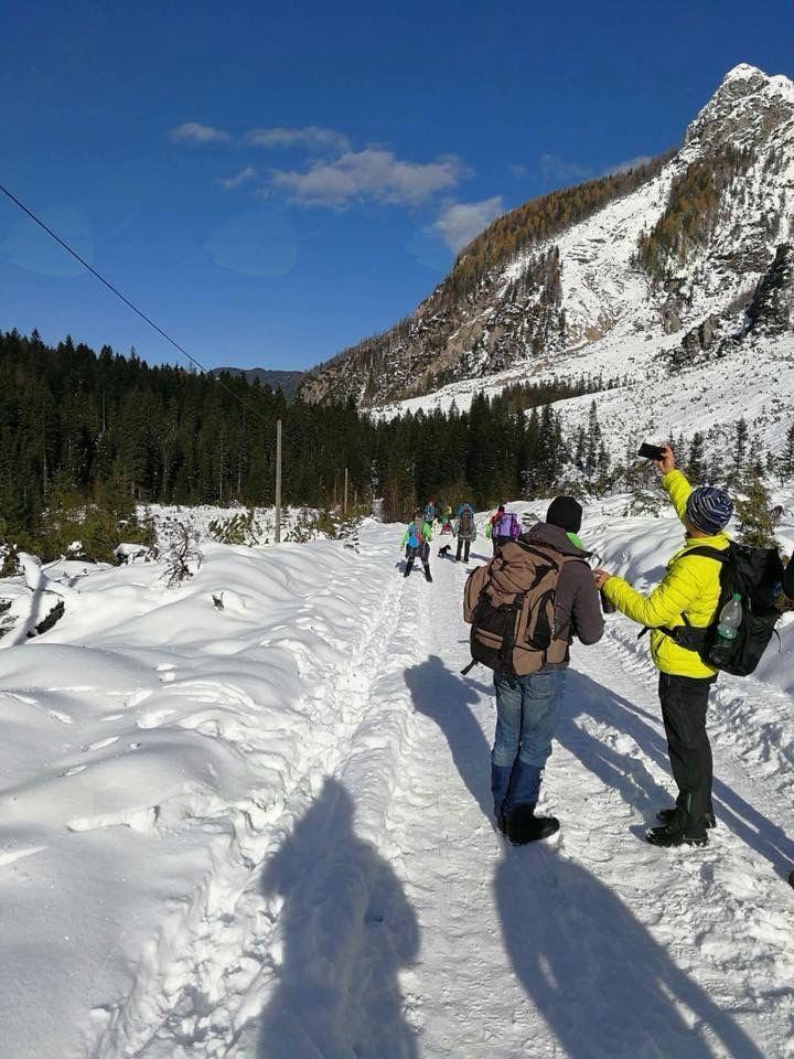 Taborniki prvič letos na snegu