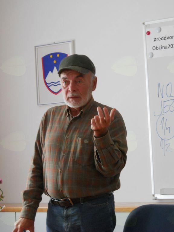 Predavanje Antona Komata v Preddvoru
